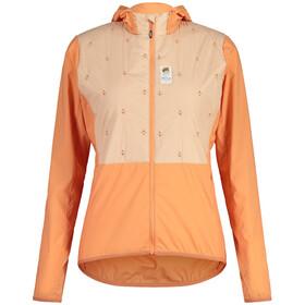 Maloja AlvraM. Hybrid Primaloft Fahrradjacke Damen orange